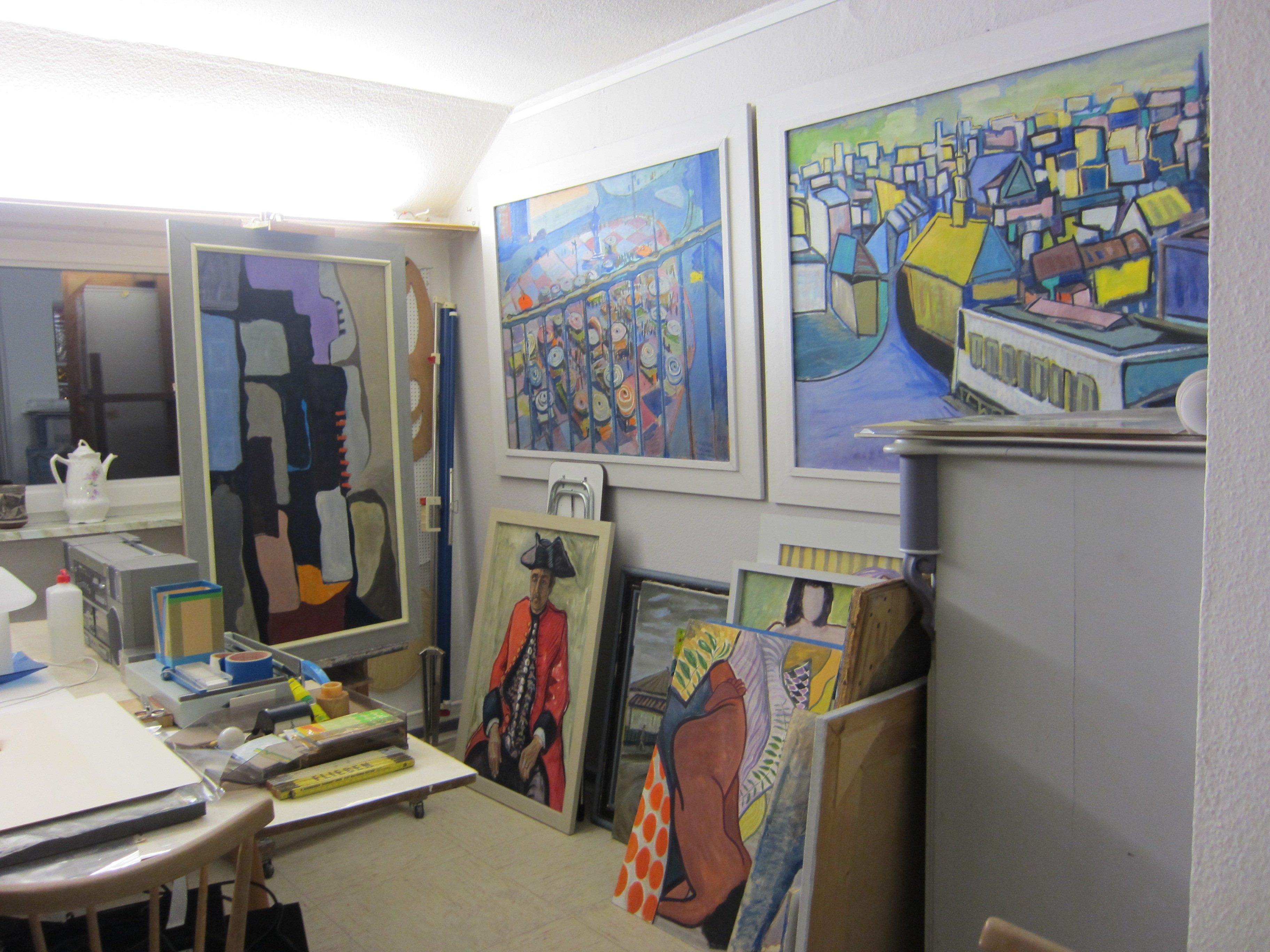 Clemens Kindlings Atelier 2