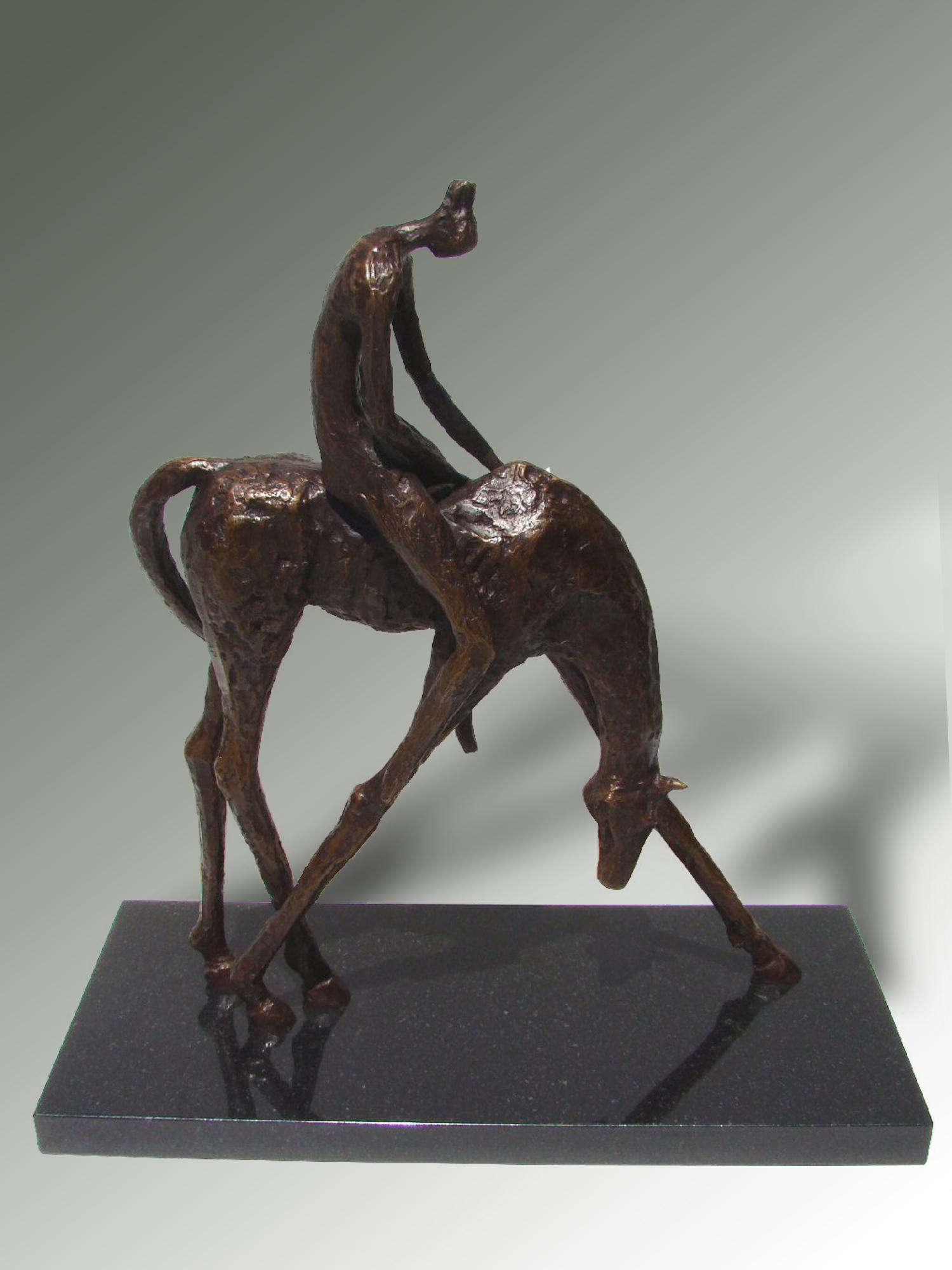 hansen_Horse_and_Rider_19x18x8