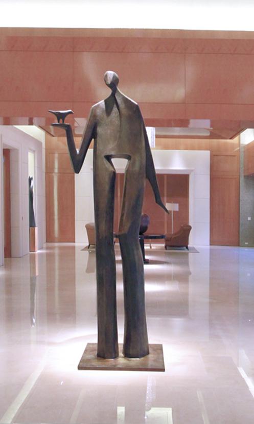 hansen - Birdman (monumental) - 120x48x36
