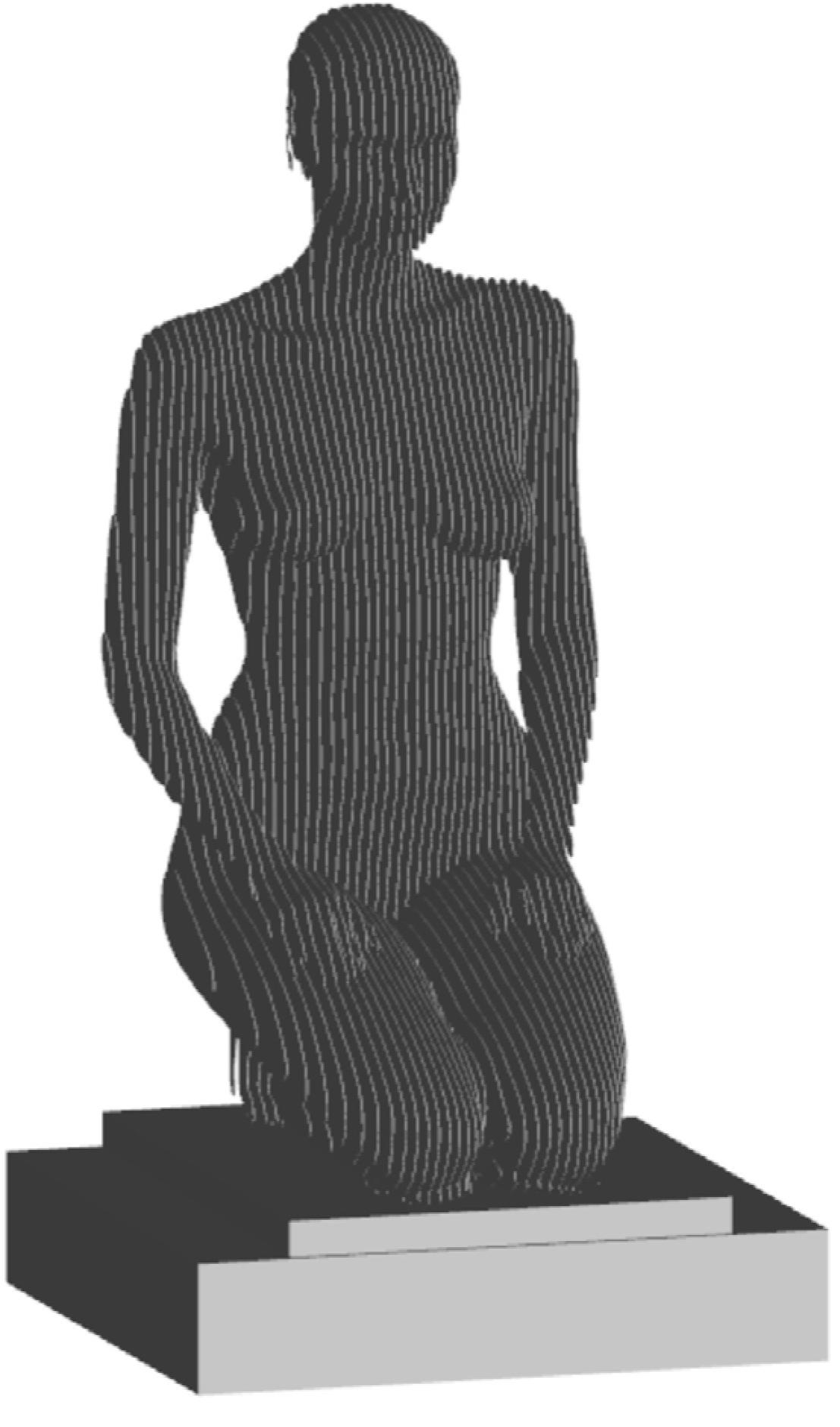 Kneeling Woman 2021 sketch